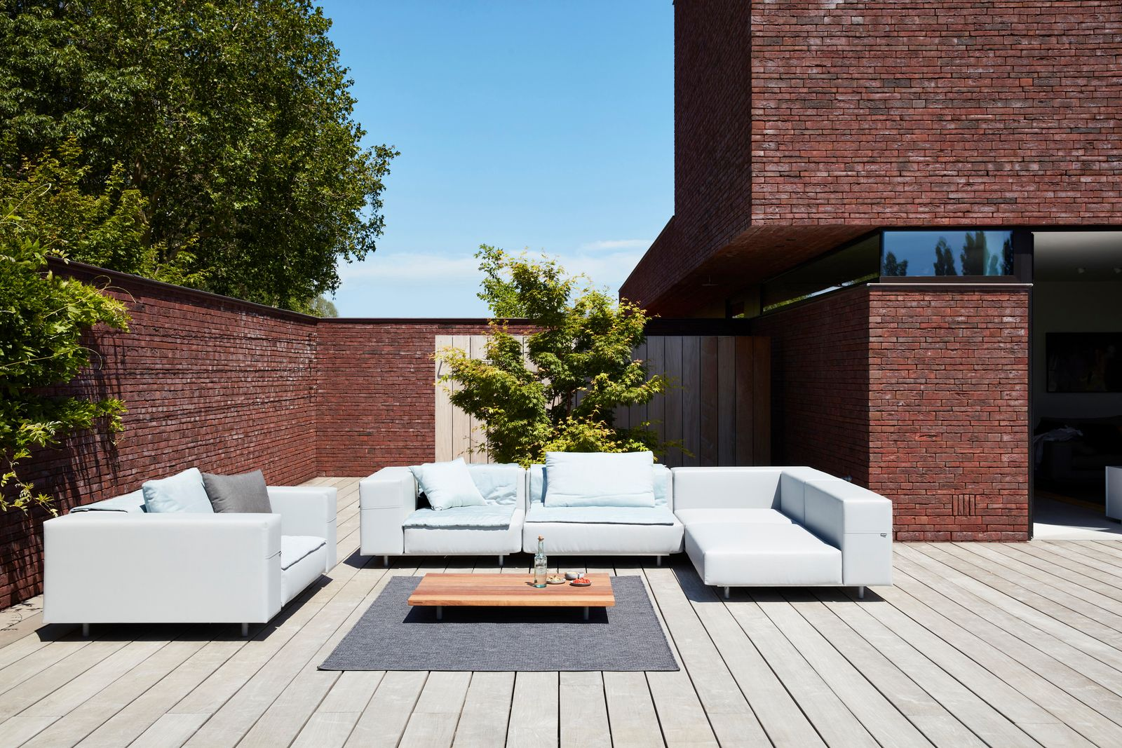 Une terrasse pour profiter des amis