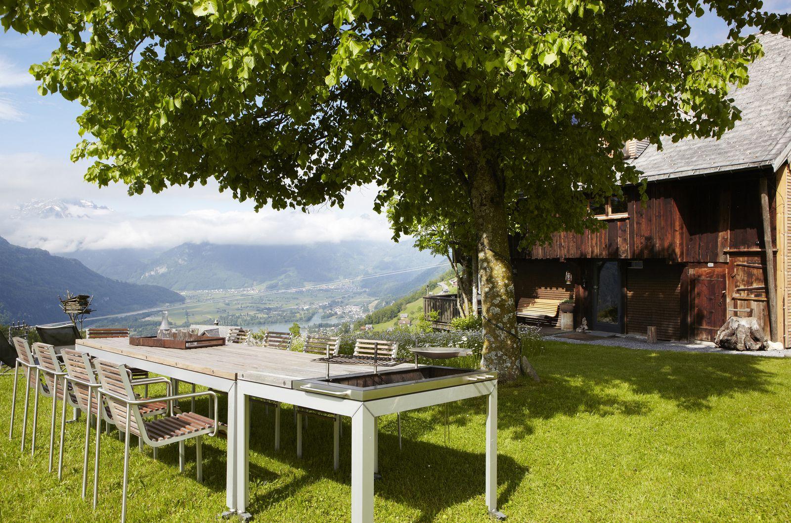 Ein Schweizer Bergchalet