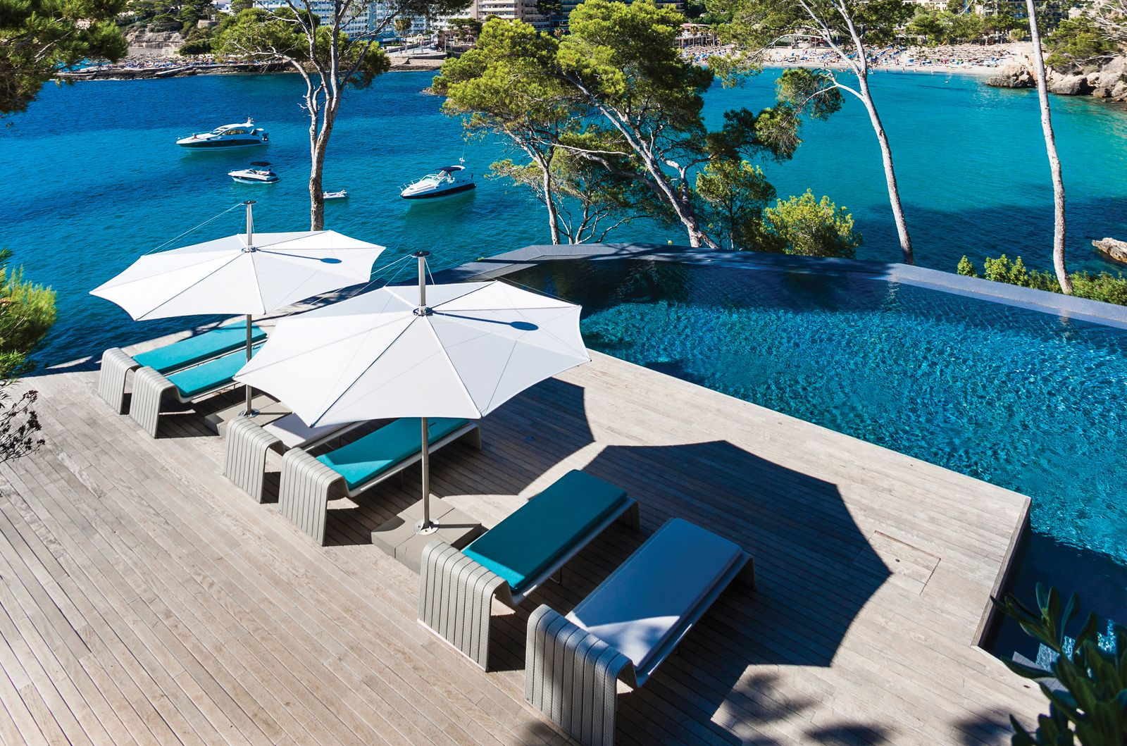 Poolside Shade in Mallorca