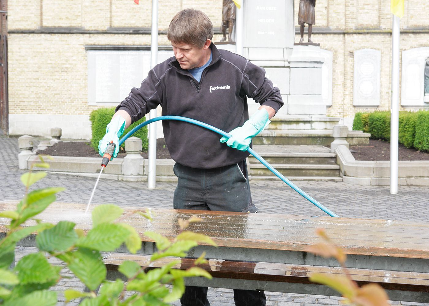 Hopper Spring cleaning Poperinge