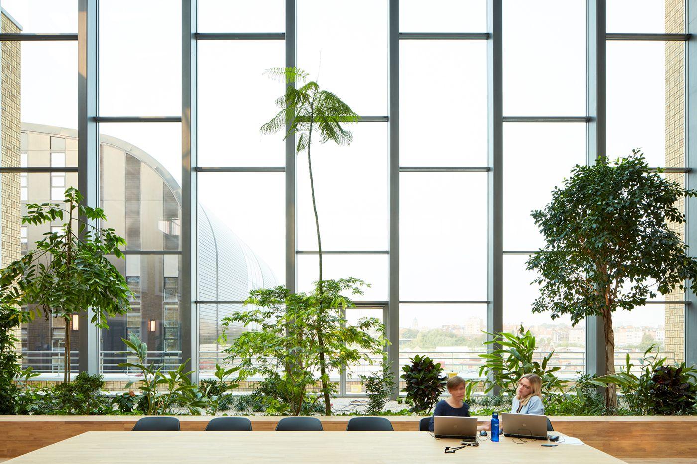 The largest passive building