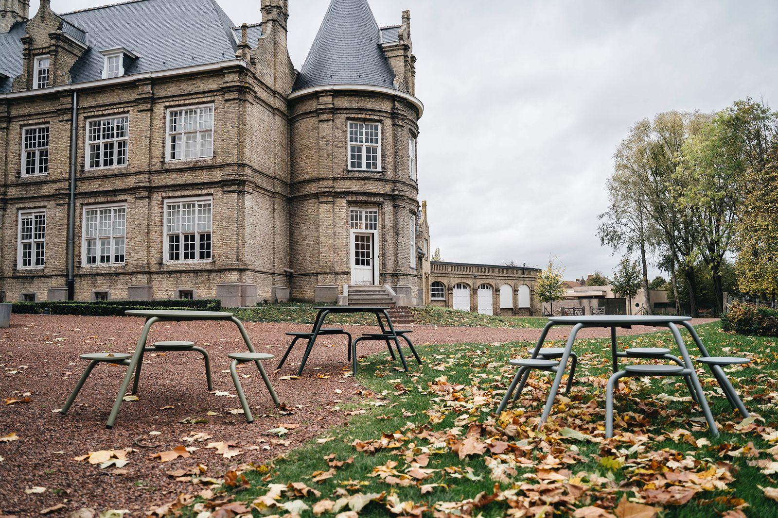 Des tables aux couleurs de l'automne