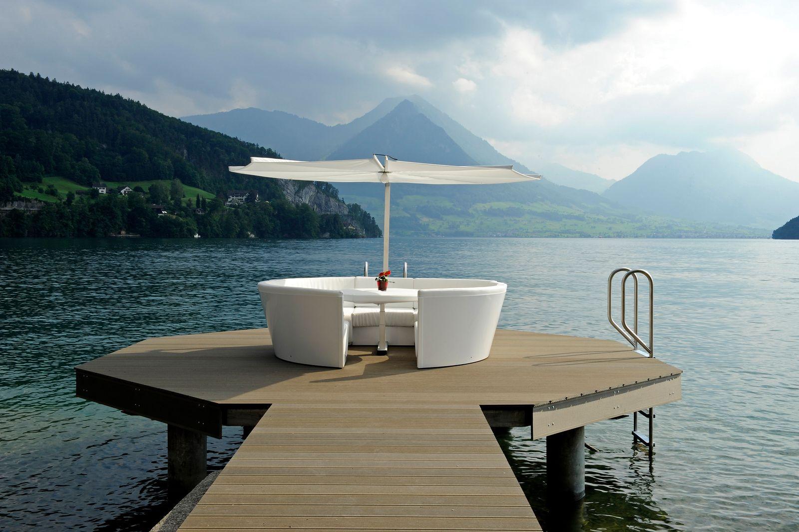 De hemel op aarde aan het Meer van Luzern