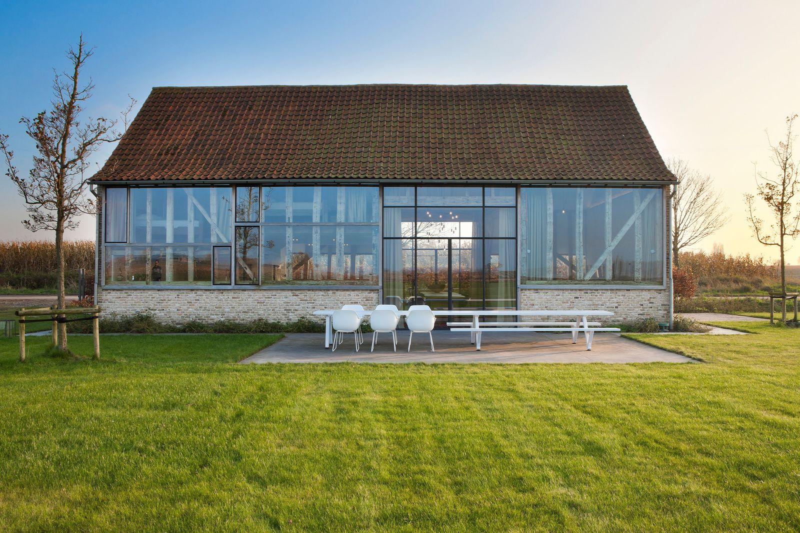Une maison de vacances transparente