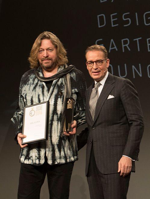 Sol+Luna gewinnt Gold bei den German Design Awards