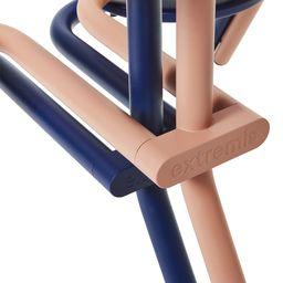 Gestructureerd gepoederlakt roesvast staal