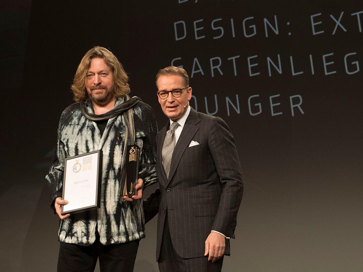 Sol+Luna wins gold at German Design Awards